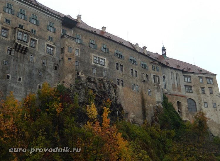 Средневековый Крумловский замок