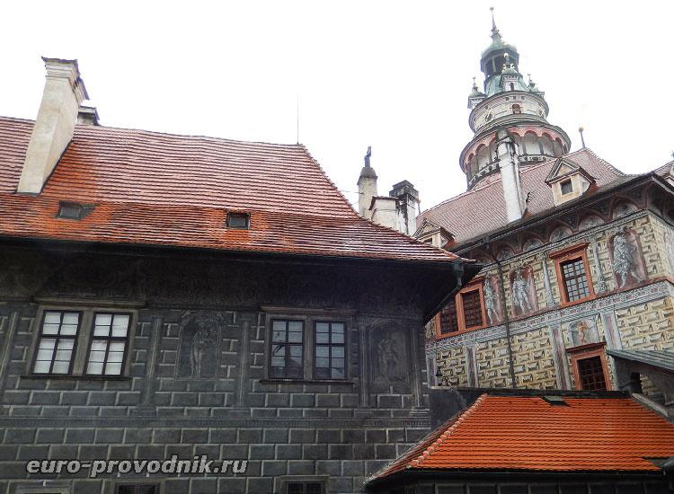 Вид на Малый Град со второго двора