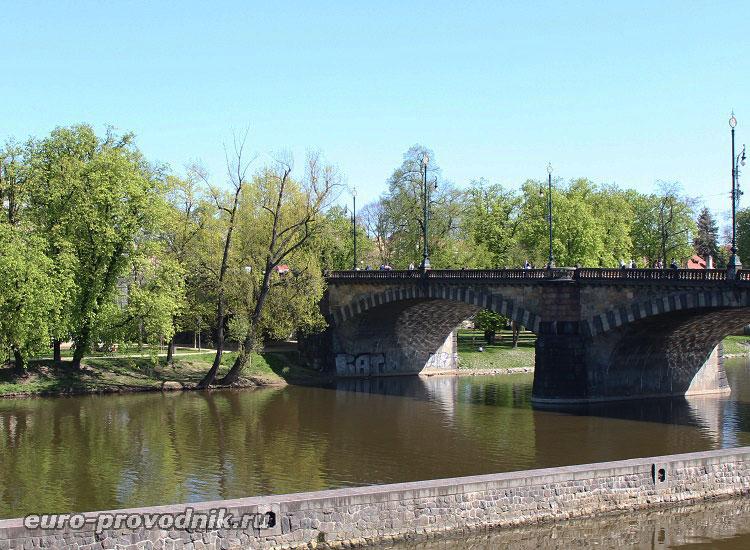 Мост Легии и Стрелецкий остров