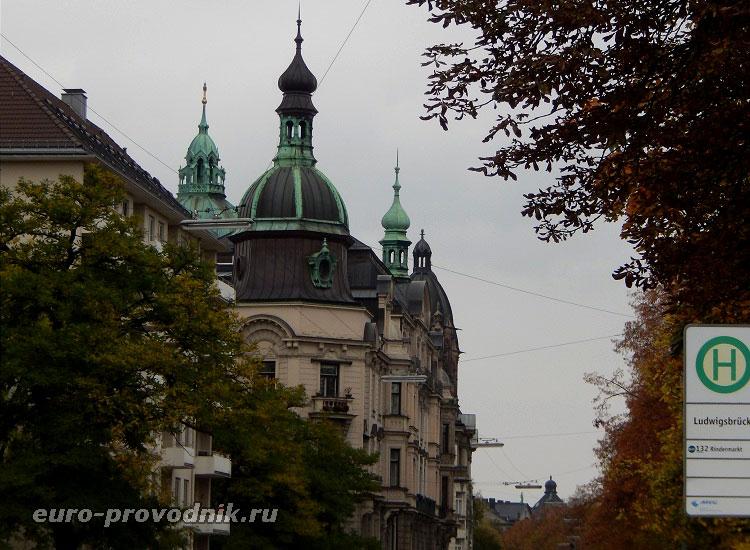 Мюнхен за пределами исторического центра