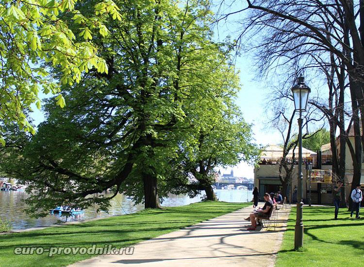 На Стрелецком острове в Праге