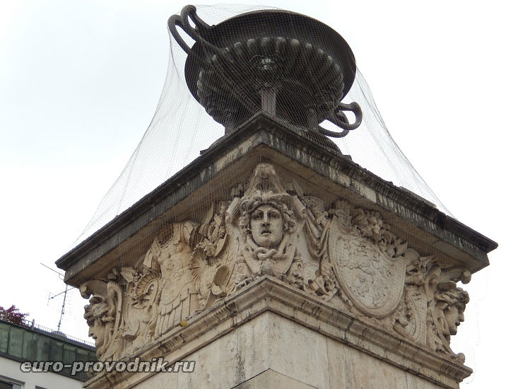 Скульптурное оформление моста Людвига