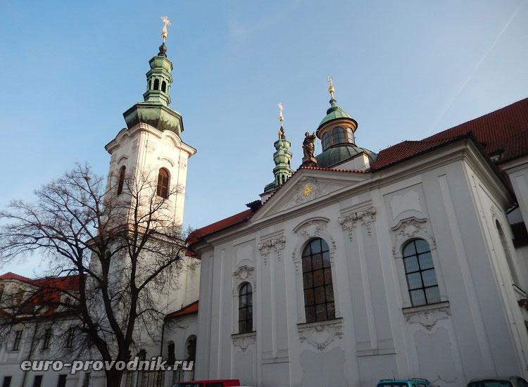 Церковь Страговского монастыря
