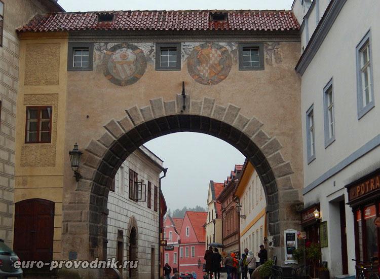 Ворота Чешского Крумлова