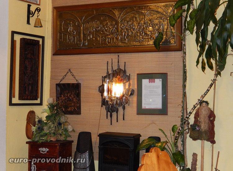Интерьер семейного ресторана