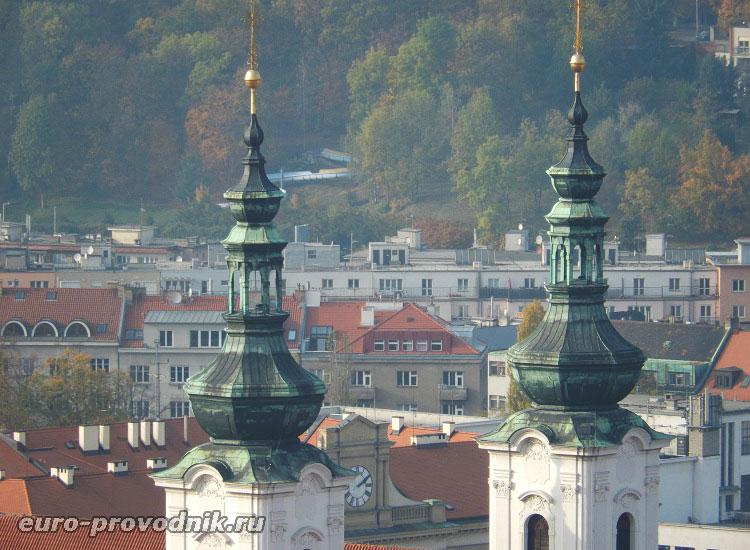 Купола церкви Вознесения Девы Марии