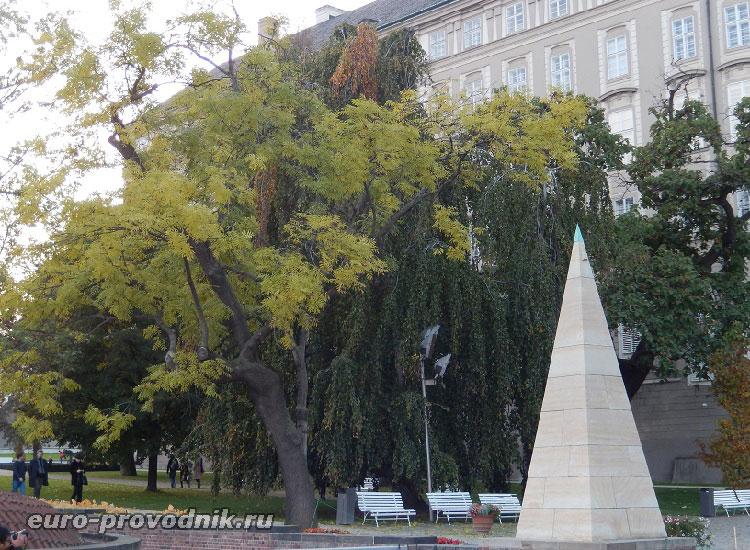 В южных садах в Праге