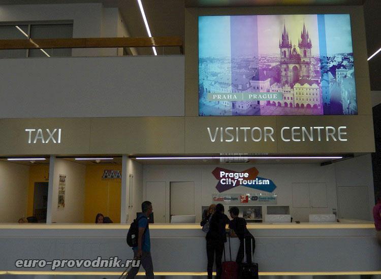 Туристический центр в аэропорту