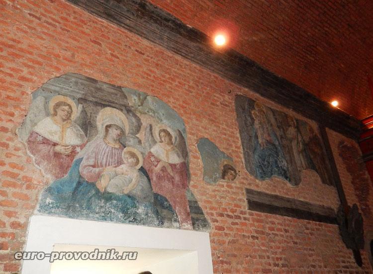 Фрески Святого дома