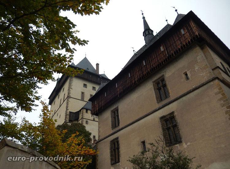 Башни замка Карлштейн