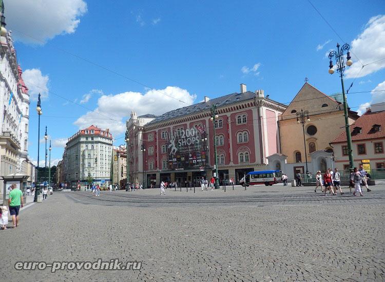 Торговый центр Рalladium на площади Республики