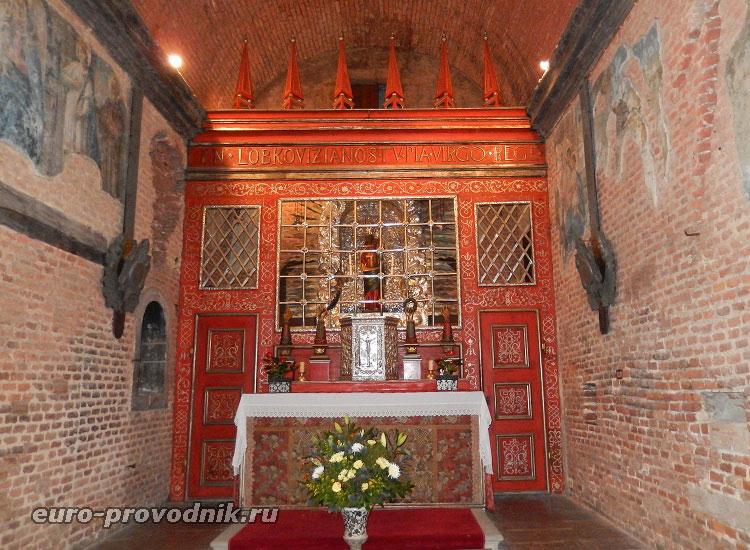 Алтарь в Святой хижине