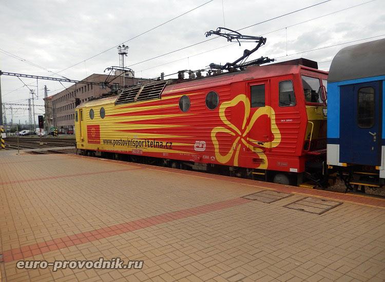 Поезд, следующий в городок Кутна Гора