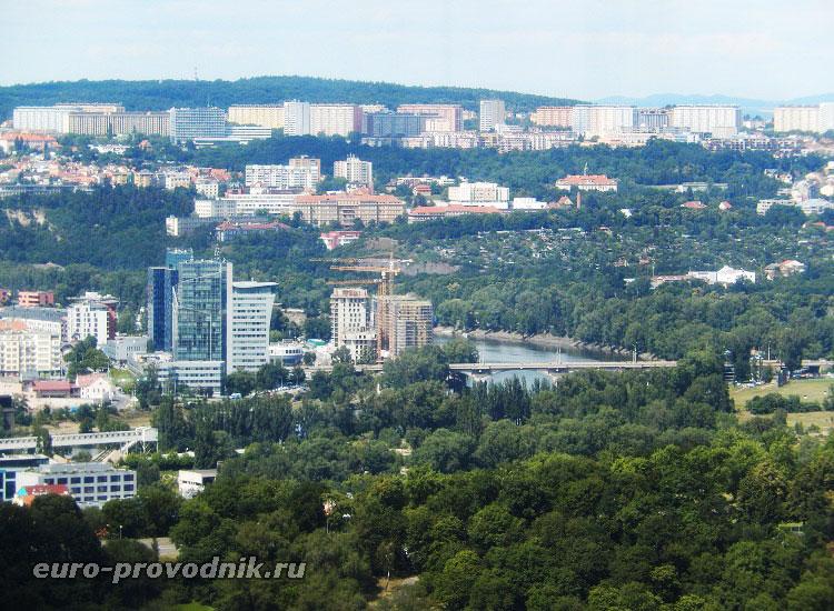 Прага, утопающая в садах