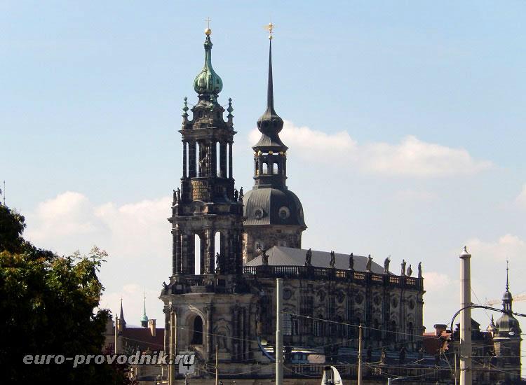 Башня собора и башня Гаусмана
