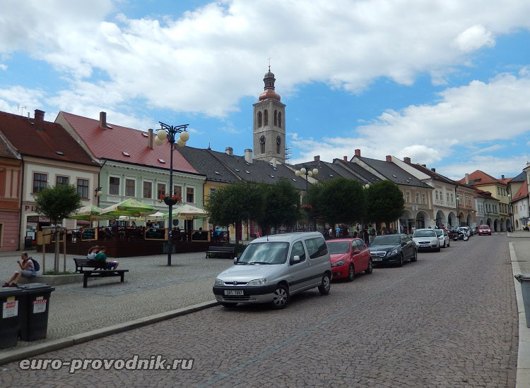 Исторический центр городка Кутна Гора
