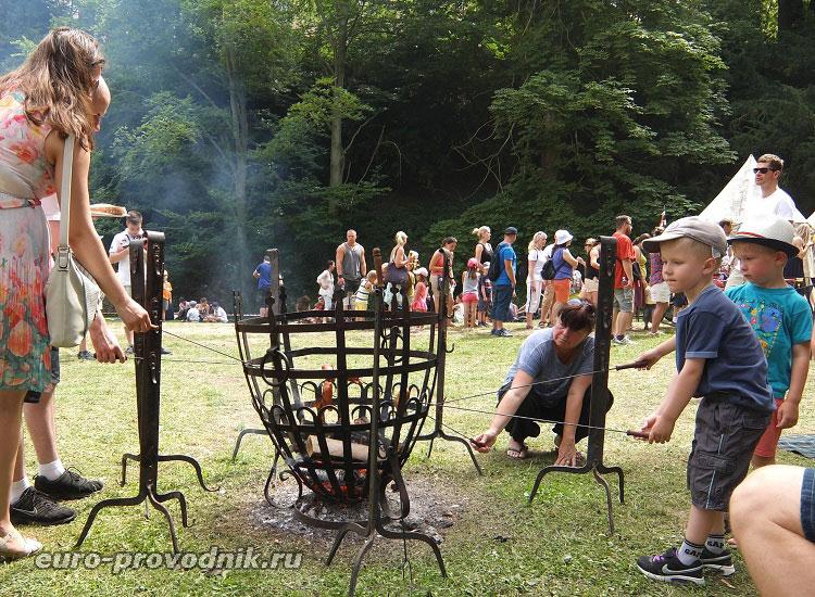 Средневековый гриль