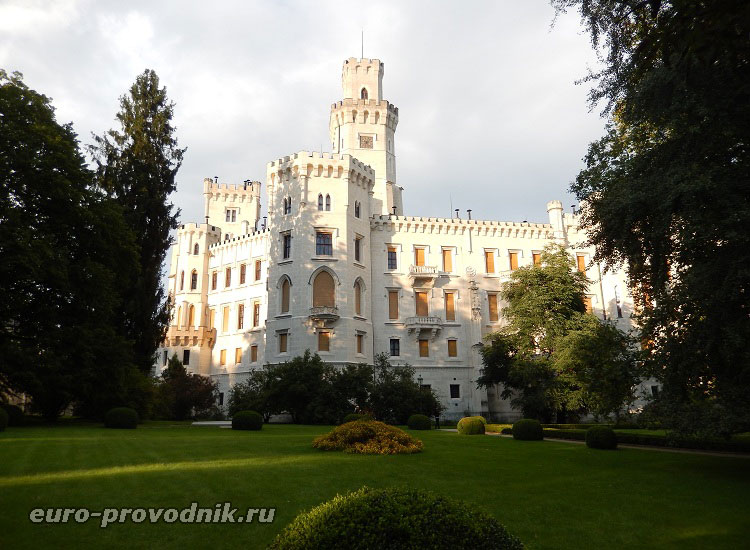Южный парк замка