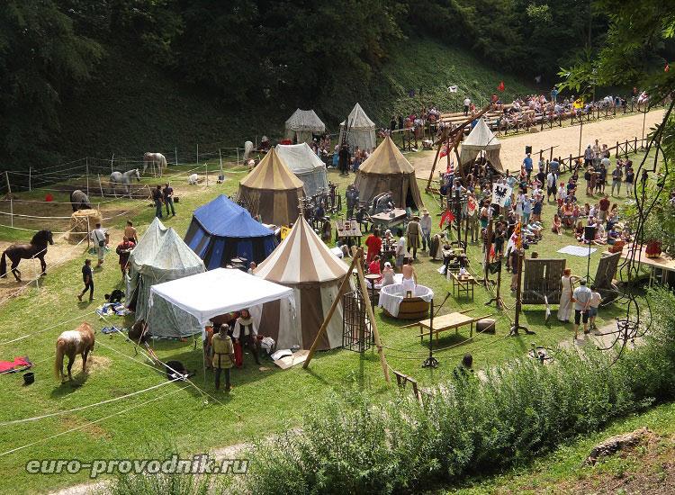 Средневековый стан