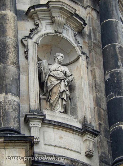Фрагмент экстерьера Дрезденского собора