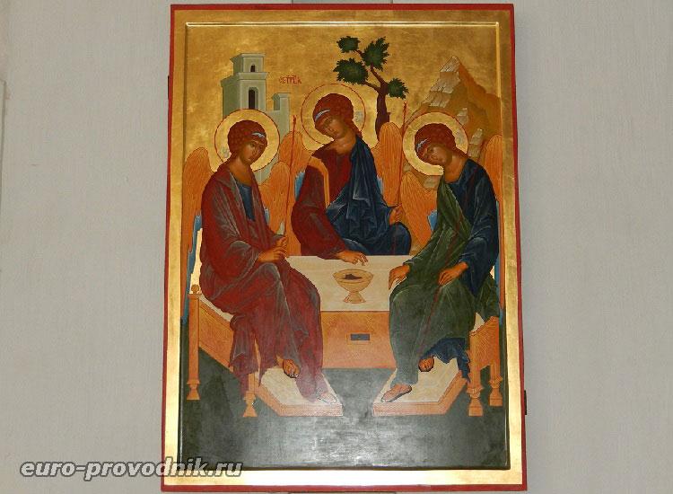 Святая Троица в Дрезденском соборе