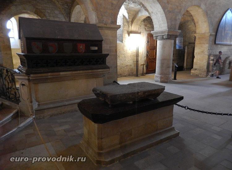В костеле Святого Иржи