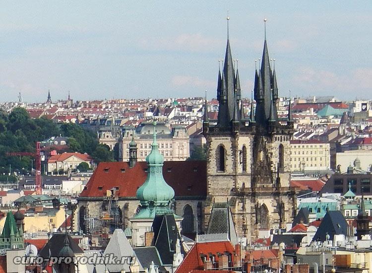 Боковой ракурс собора
