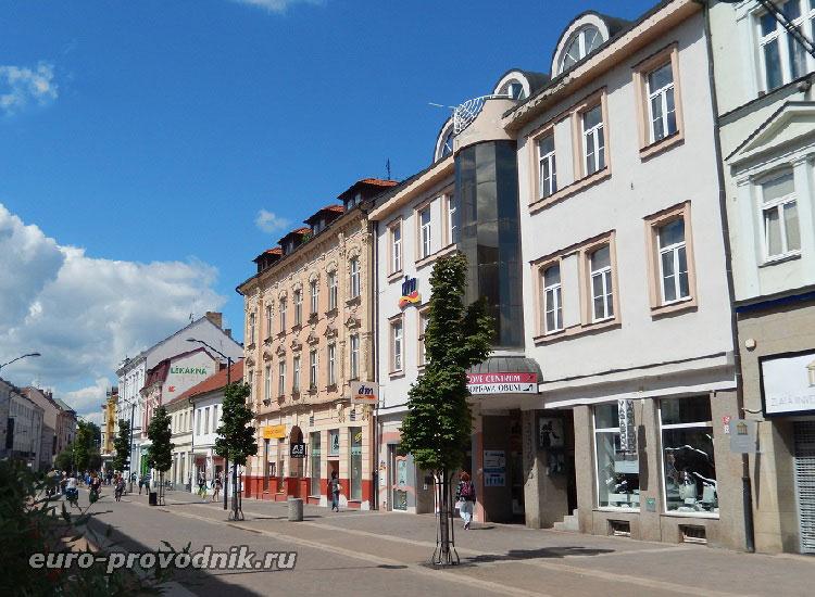 Пешеходная улица Lannova