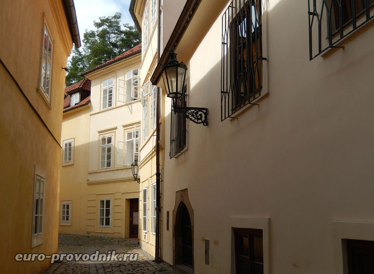 Улочки Старого Места в Праге