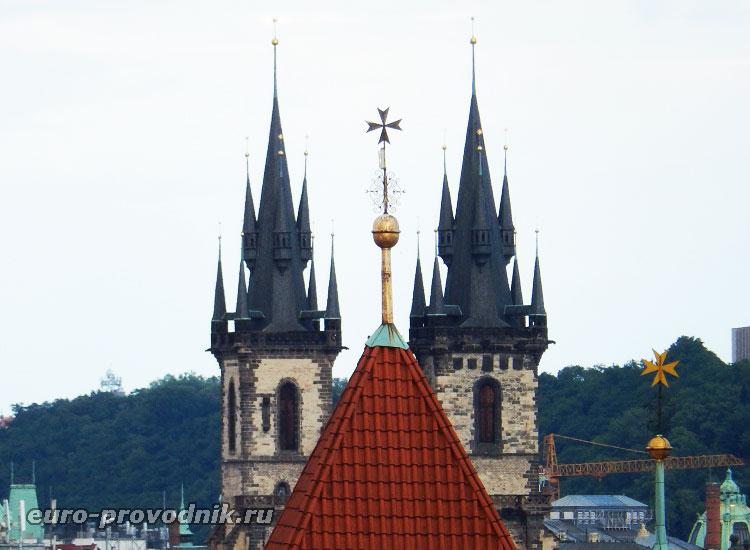 Башни Тынского собора