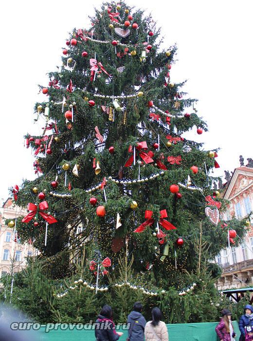 Рождественская елка на Староместской площади