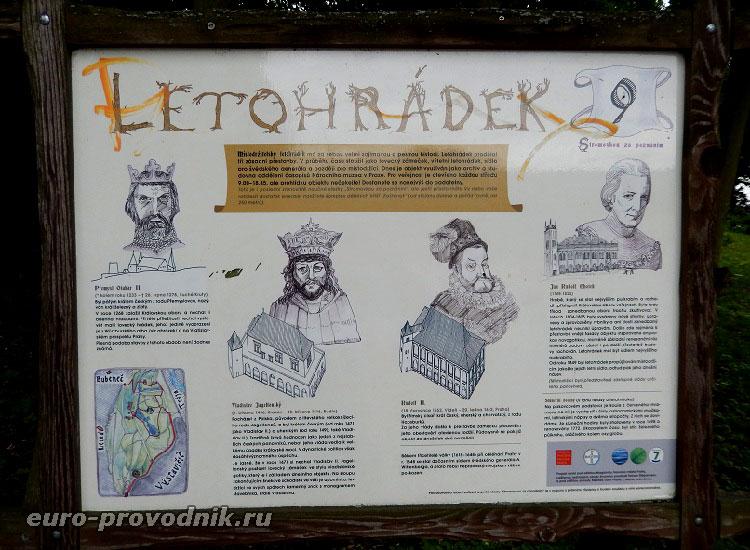 История Летоградека на стенде