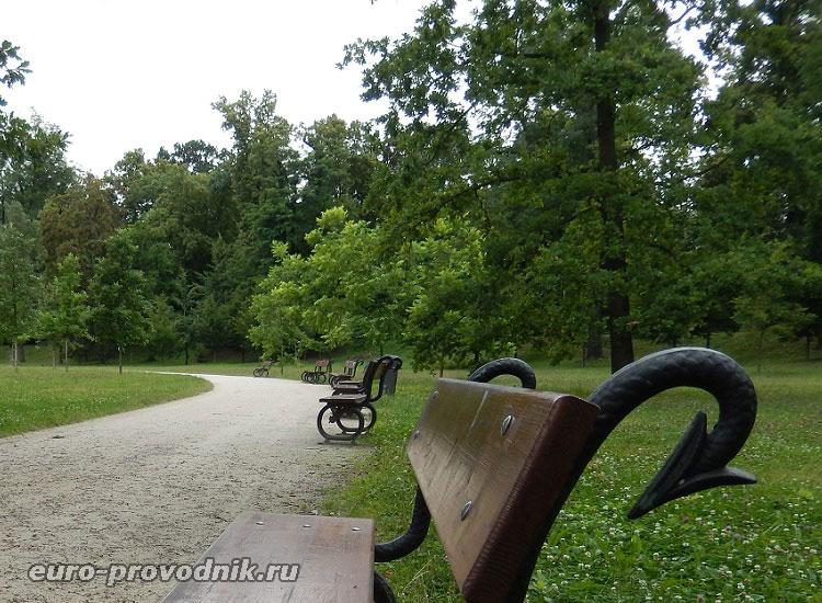 В парке Стромовка