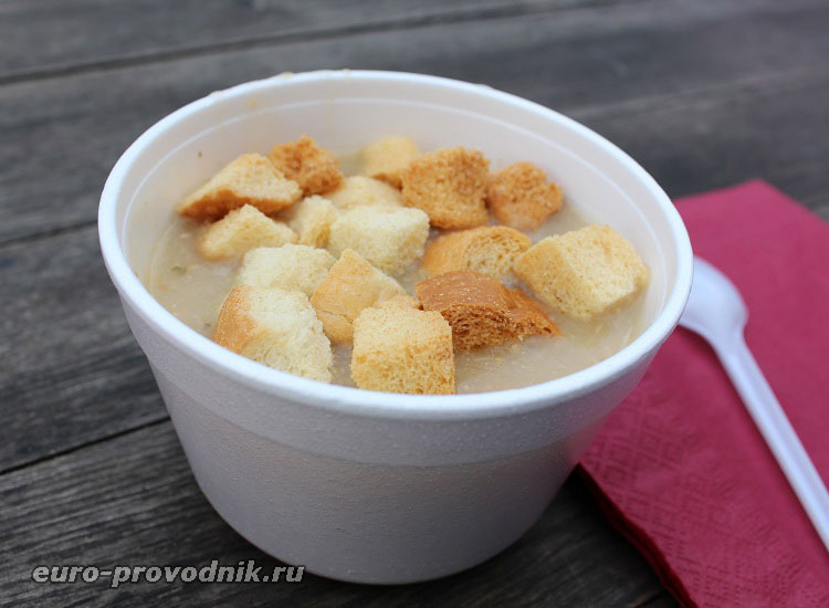 Рождественский суп в Чехии