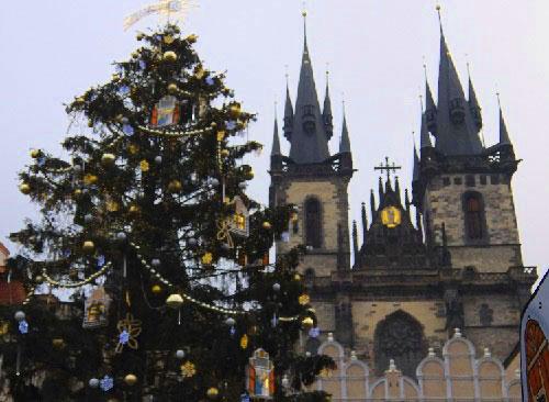 Рождественская Прага
