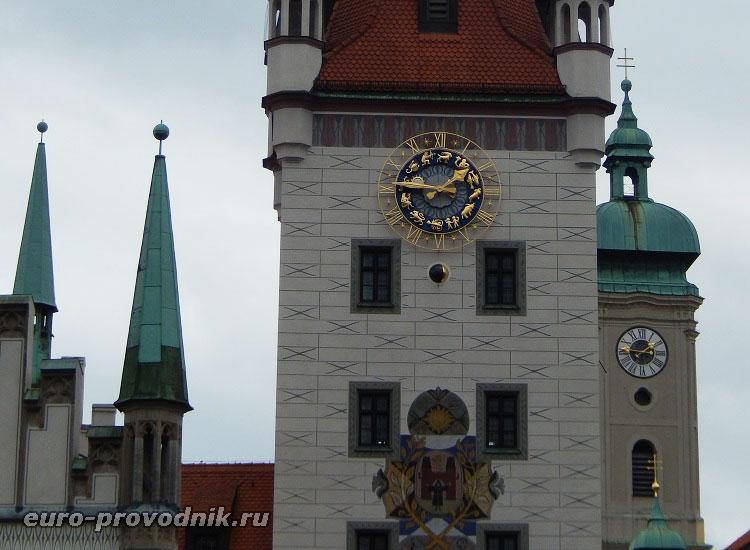 Элементы фасада старой ратуши