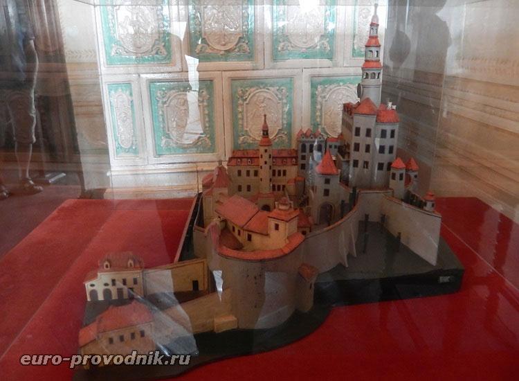 Макет замка Фридлант