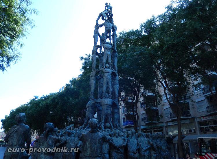 Памятник в Таррагоне