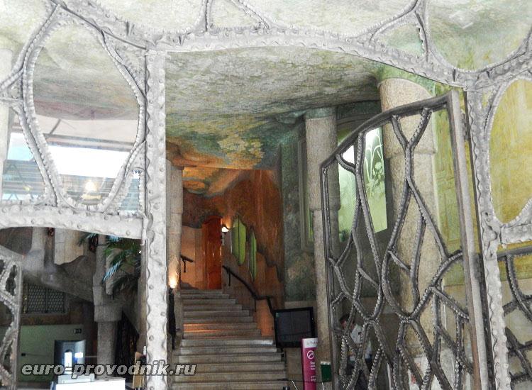 Вход в Ла Педрера