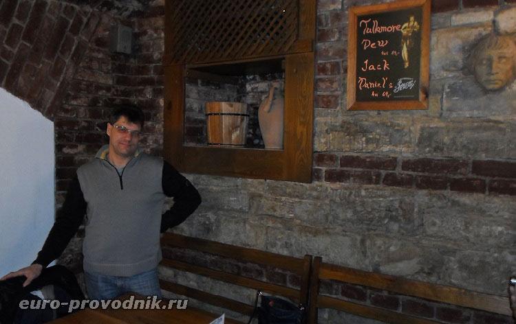 Автор рассказа в Праге