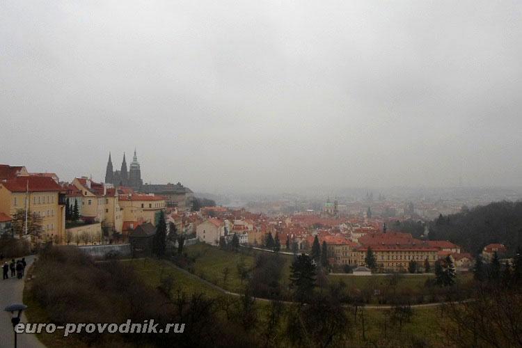 Прага в утреннем тумане