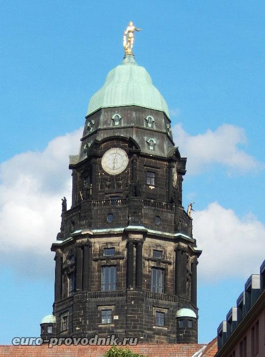 Башня Дрезденской ратуши