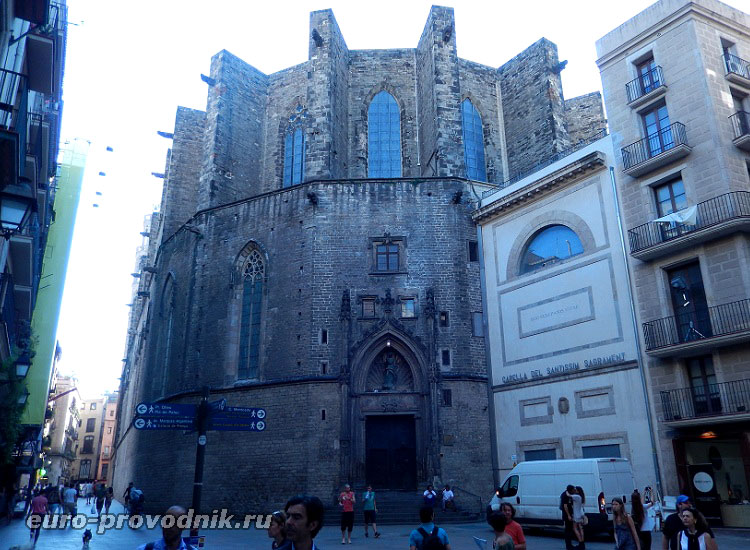 Санта Мария дель Мар в Барселоне