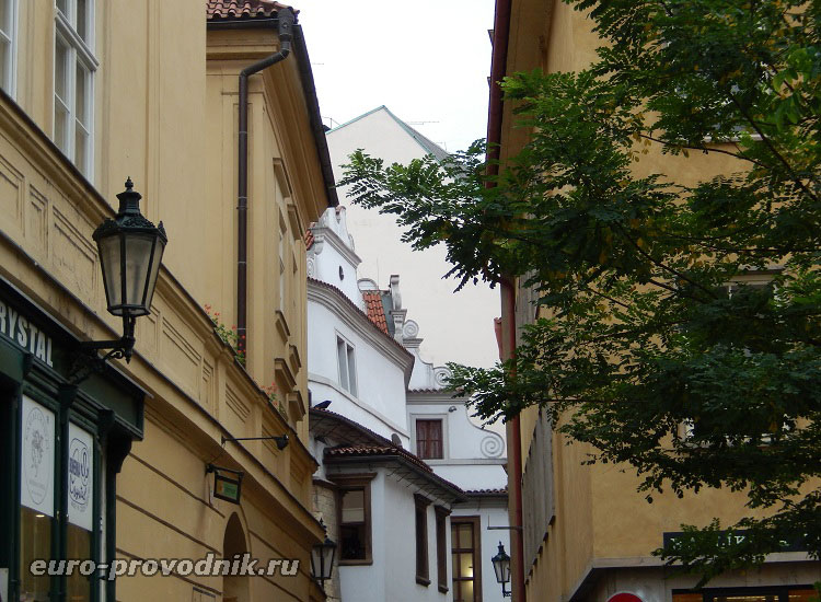 Переулки Старой Праги