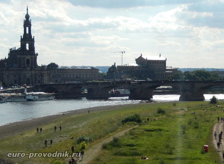 Мост Августа и придворная церковь