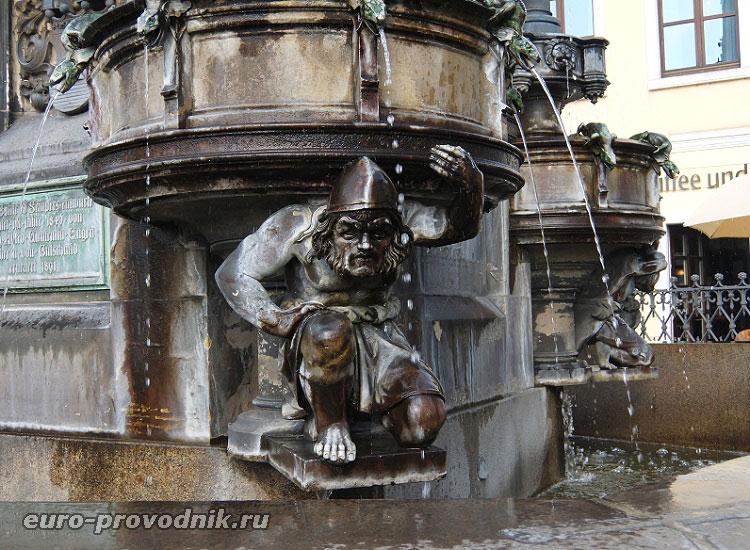 Скульптура Холерного фонтана