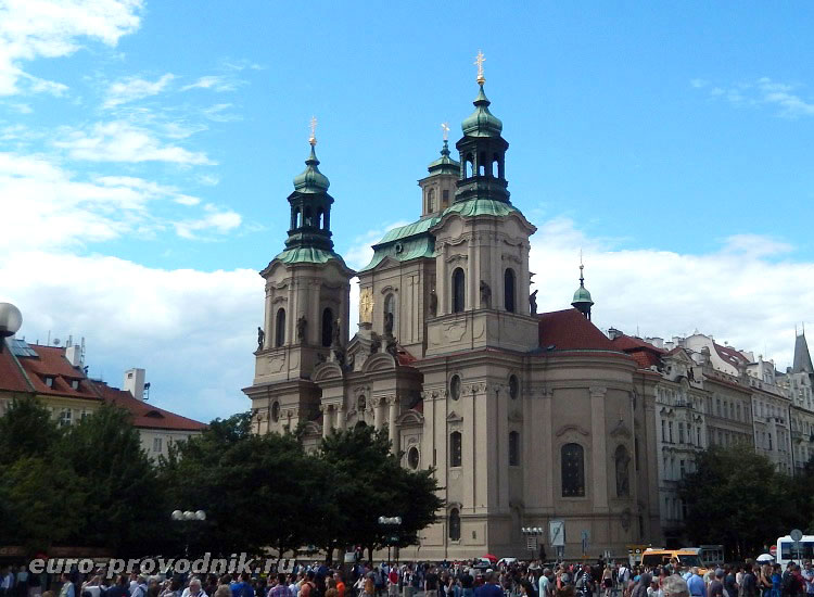 Храм Св. Николая на Староместской площади