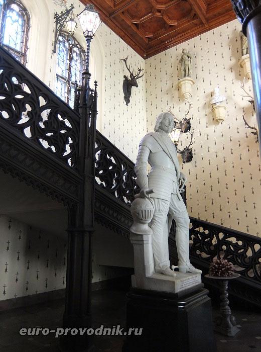 Скульптура Генриха де Рогана