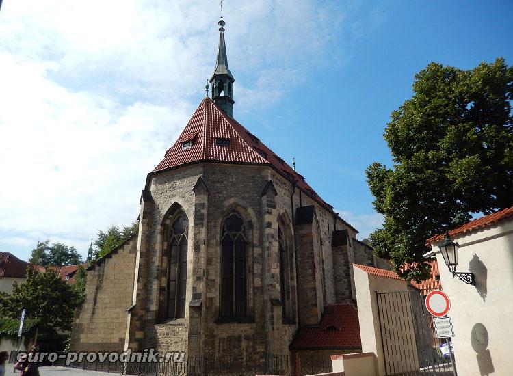 Костел монастыря Св. Анежки
