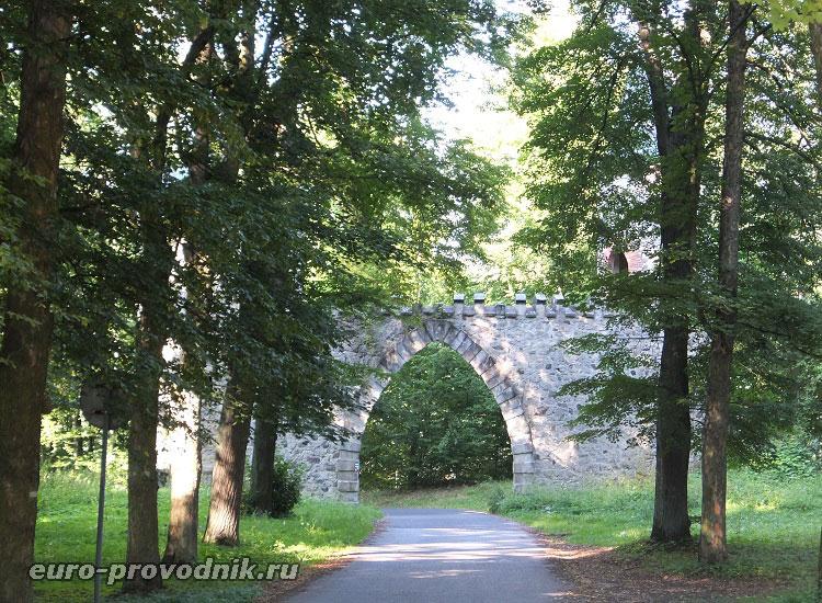 Руины замка Артура